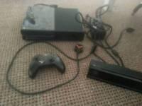 Xbox one wirh kinnect