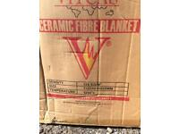 Ceramic Fibre Blanket (27 metres x 25mm thick)