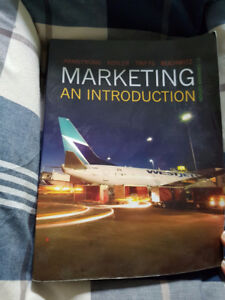 Intro Marketing Textbook 2016 year