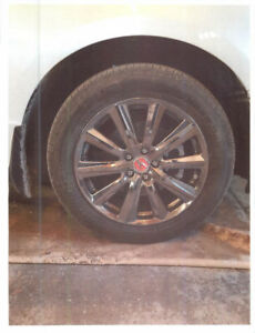 "Acura 19"" Alloy Rims & Bridgestone Blizzak Winter Tires"