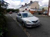 Mazda 3 2004 reg 5 door hatchback in silver , good on fuel & lots of room ,px welcome
