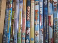 Children's DVD's for sale. 45 DVD's in total - £20.00 for the lot.