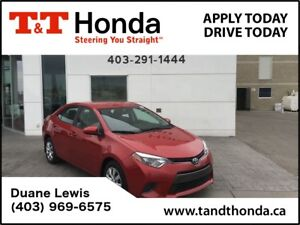 2015 Toyota Corolla LE* One Owner, Heated Seats, Bluetooth, USB*
