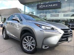 2016 Lexus NX 200t 1 Owner Premium Pkg  AWD Leather Bluetooth
