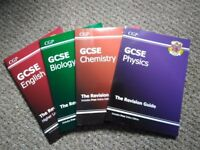 CGP Revision Guides (English; Biology; Chemistry; Physics)