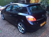 2006 Vauxhall Astra SRI Manual Black 81k BARGAIN QUICK SALE WANTED £600
