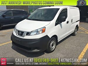 2015 Nissan NV200 Cargo S | Auto, Air Conditioning, Bluetooth