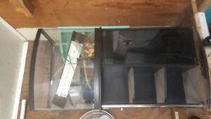 50 liter aquarium and stand
