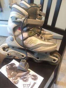 K2 roller skates size 7 (37) women