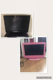 X2 TV's NOT WORKING - SELLING AS SPARES/REPAIRS/PARTS ONLY