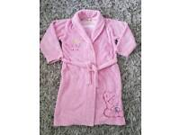 M & S Tatty Teddy Me to You Girls Pink Dressing Gown Age 9-10 Years.