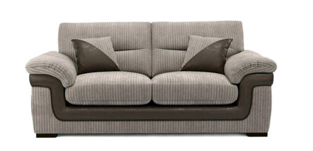 DFS Sofa 3 Seaterin Streatham Common, LondonGumtree - Used 3 seater from DFSComes with 2 CushionsCondition Good condition. Used however, still in tact. Very comfortable Length of Use A year and couple months. Very cleanReason Selling Changing colour of living room to grey and pink and simply doesnt...