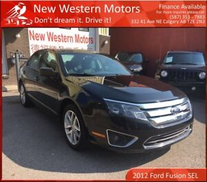 2012 Ford Fusion SEL!! AWD!! LOW KM!! SUNROOF!!