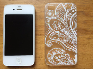 Rogers iPhone 4s [White]-Excellent Condition