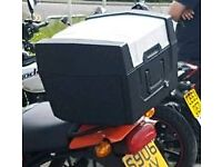 Motorcycle top box
