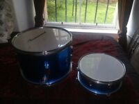 Two mountable drums £10 & £7 or £15 for both