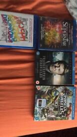 Blu ray dvds brand new and sealed