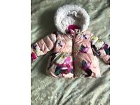 Ted baker coat 18/24 months, good condition paid 55