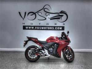 2013 Honda CBR500 R- Stock#V2778NP- Financing Available**