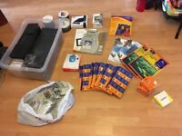 Computer and printer accessories - cartridges, cds, DVDs, photo paper, empty cases