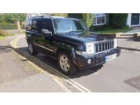 2006 JEEP COMMANDER LIMITED 3.0 CRD AUTOMATIC BLACK 1 OWNER 85,000 MILES 12 MONTHS MOT