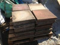 Reclaimed Concrete Paving Slabs 450 x 450