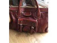 Chloe Edith brown leather bag