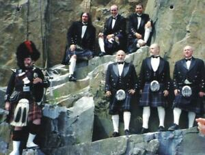 Scottish outfits for weddings and special events - one or group