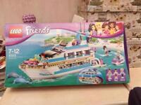 Dolphin Lego cruiser.