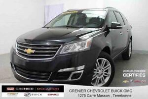 2014 Chevrolet TRAVERSE LT *7 PASSAGERs + SIÈGES CHAUFFANTS*