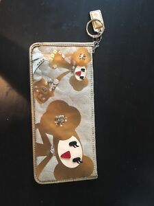 """Goldy"" Coach Poppy Collection pencil case"