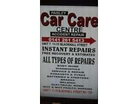 paisley car care CENTER 24/7 RECOVERY