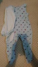 Boots dungarees 3-6m