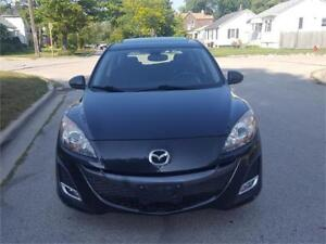 2010 MAZDA3 GT GRAND TOURING/ SPORT PACKAGE/SPOILER/6SPEED