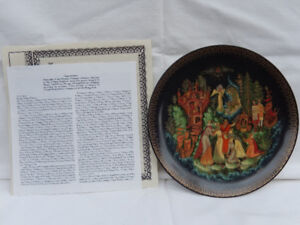 Collector Plates Bradford Exchange Russian series