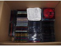 USED BLANK RECORDABLE MINIDISCS INC TDK, MAXELL, SONY.