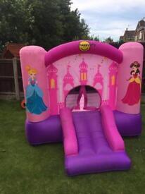 Kids princess bouncy castle