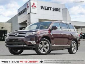 2013 Toyota Highlander Limited–Navigation-Only $105/Weekly!!!