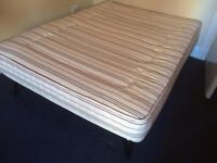 Used furniture: bed (frame and mattress)