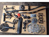 job lot mountain bike parts