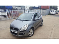 AUTOMATIC SUZUKI SPLASH 1.2 2008. 1 OWNER . ONLY 44 K MILES. LONG MOT. EXCELLENT DRIVE. BARGAIN