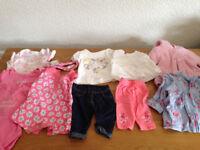 Baby Girl clothes bundle, Newborn & 0-3m