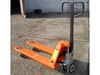 Used Orange Pallet Truck 2500kg VGC - Free Delivery In Southampton Area