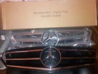MERCEDES C CLASS AMG SPORTS GRILL 2007-14 204 CHASSIS BRAND NEW!! £90
