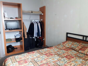 One bedroom in Sheridan College residency