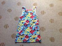 LIttle Bird flower print summer dress Age 7-8years