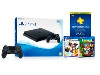 *BRAND NEW* PS4 (New version), Extra Controller, 2-Games, 15mo PS Plus Code - RRP£400