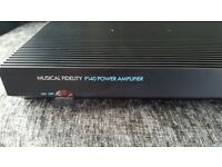 Music fidelity power amplifier p140