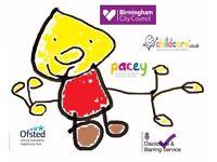 Childminder - Moseley Hallgreen Billesley Shirley Sparkbrook OFSTED Registered