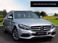Mercedes-Benz C Class C 220 D SPORT PREMIUM (silver) 2017-02-28